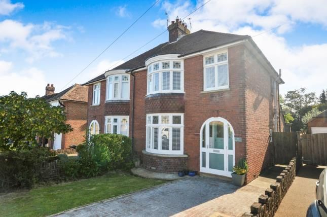 Thumbnail Semi-detached house for sale in Earls Avenue, Willesborough, Ashford, Kent