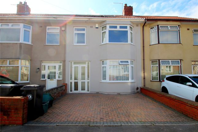 Thumbnail 4 bed terraced house for sale in Ilchester Crescent, Bedminster Down, Bristol
