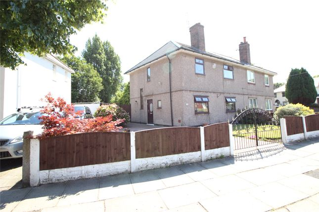Thumbnail Semi-detached house for sale in Lowerson Road, Liverpool, Merseyside