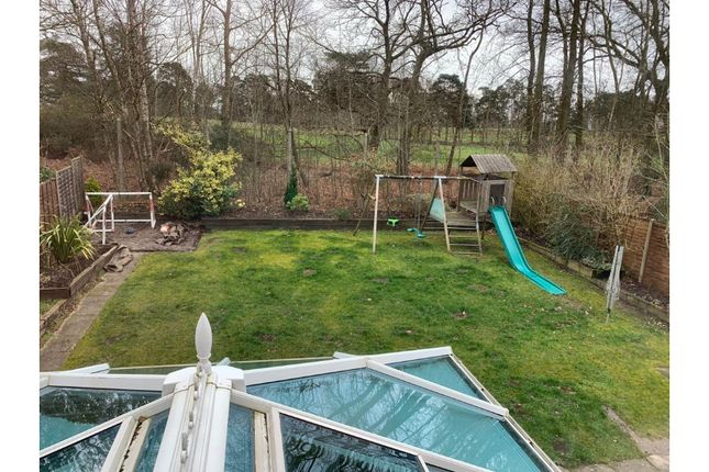 Rear Garden of Whitewater Road, Fleet GU51