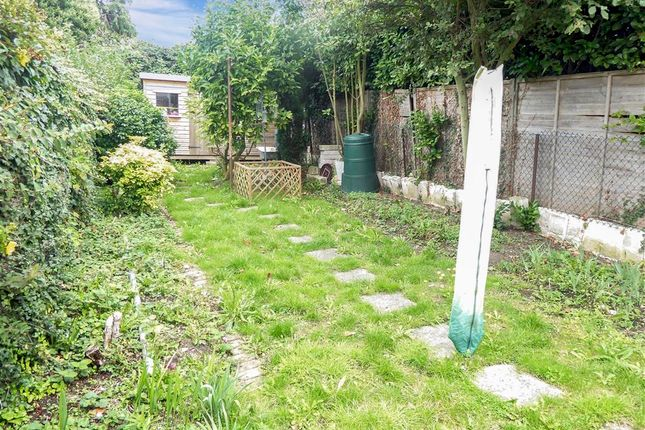 Rear Garden of Southdown Road, Minster On Sea, Sheerness, Kent ME12