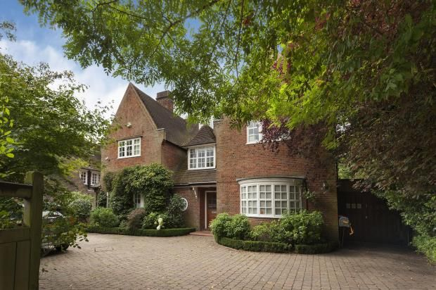 6 bed detached house for sale in Hampstead Way, Hampstead Garden Suburb, London