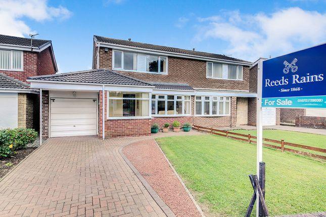 Thumbnail Semi-detached house for sale in Ashkirk, Dudley, Cramlington