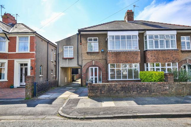 Thumbnail Semi-detached house for sale in St Isan Road, Heath, Cardiff