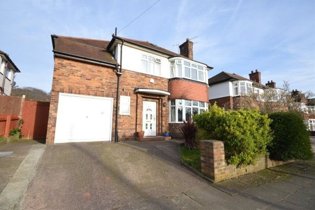 Thumbnail Detached house to rent in Childwall Park Avenue, Childwall, Liverpool