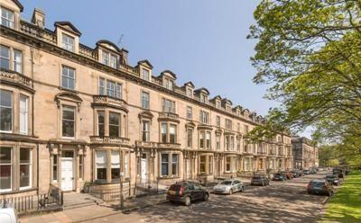 Thumbnail Flat to rent in Learmonth Terrace, Edinburgh