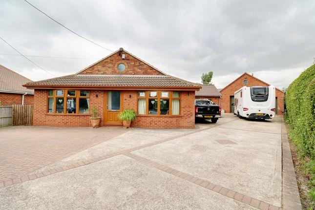 Thumbnail Detached bungalow for sale in Messingham Road, Scotter, Gainsborough
