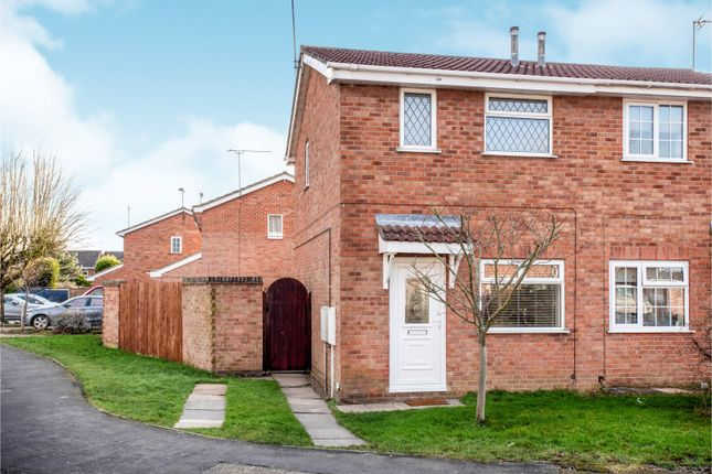 Thumbnail Semi-detached house to rent in Appletree Road, Hatton, Derby