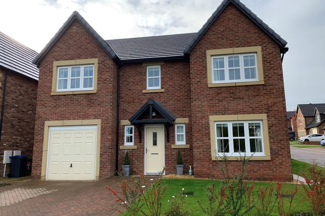 Thumbnail Detached house for sale in St Andrews Close, Thursby, Carlisle