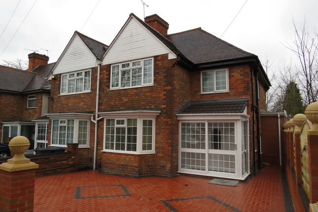 Thumbnail Semi-detached house for sale in The Broadway, Handsworth, Birmingham