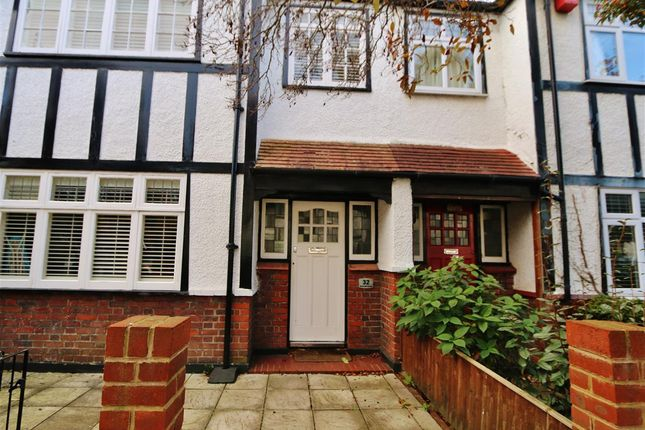 Thumbnail Terraced house to rent in Merton Hall Gardens, London