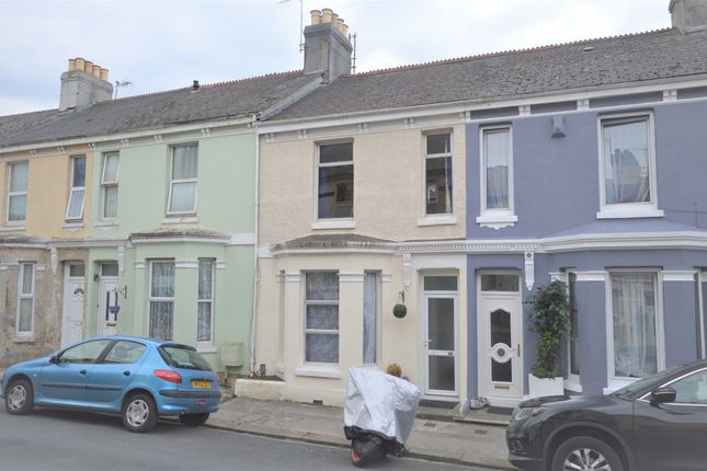 Thumbnail Terraced house to rent in York Terrace, Plymouth