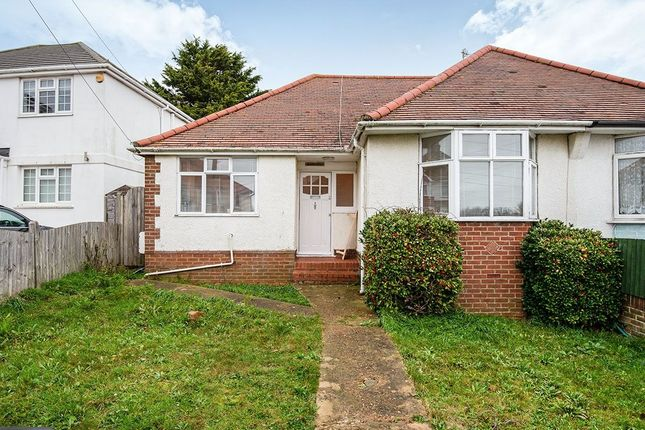 Thumbnail Bungalow to rent in Brasslands Drive, Portslade, Brighton