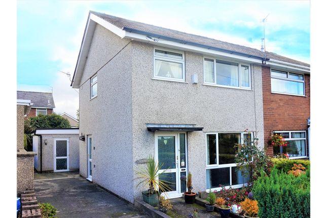 Thumbnail Semi-detached house for sale in Coetmor Road, Bangor