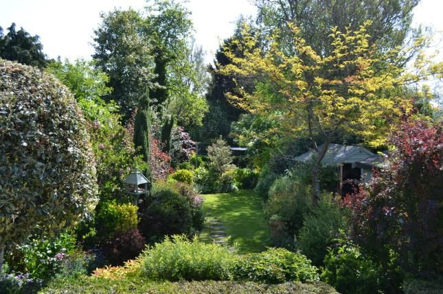 Garden of Great Bowden Road, Market Harborough, Leicester, Leicestershire LE16
