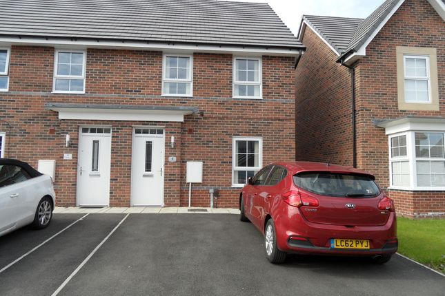 Thumbnail Semi-detached house for sale in Popular Mews, Woodlands, Doncaster