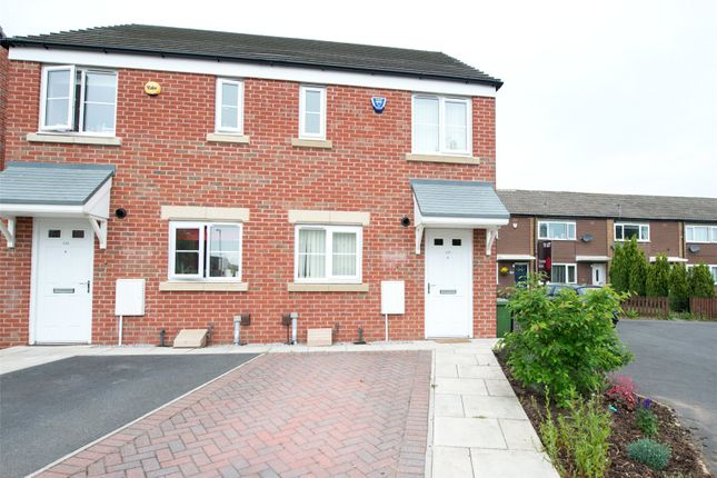 Thumbnail Semi-detached house to rent in Swarcliffe Avenue, Leeds, West Yorkshire