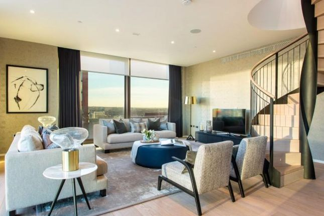 Thumbnail Flat to rent in Embassy Gardens, Ambassador House, Nine Elsm