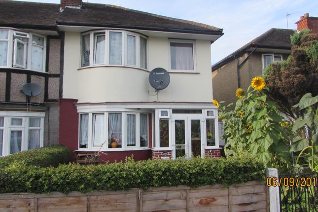 Thumbnail Semi-detached house to rent in Eastcote Road, Harrow