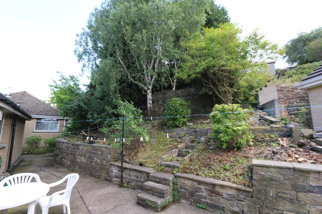 Garden of Moore View, Bradford BD7