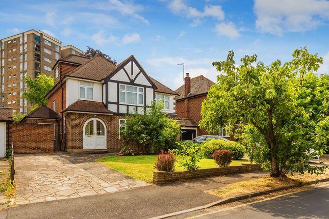 Thumbnail Detached house for sale in Effingham Close, South Sutton