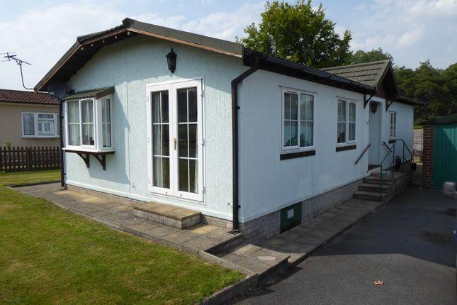 Thumbnail Mobile/park home for sale in Rockbridge Park, Discoyd, Presteigne, Powys, Wales