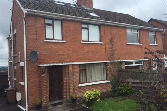 Thumbnail Semi-detached house to rent in Beechill Park East, Belfast