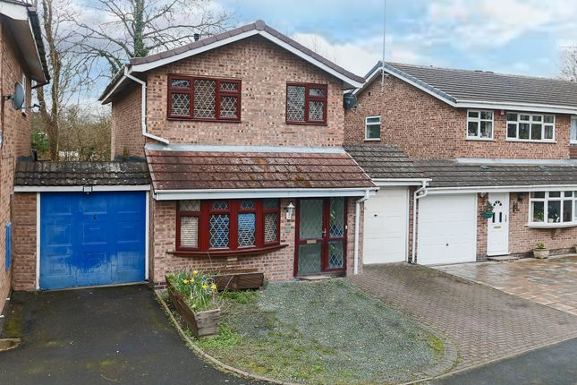 Thumbnail Detached house for sale in Broadwas Close, Redditch