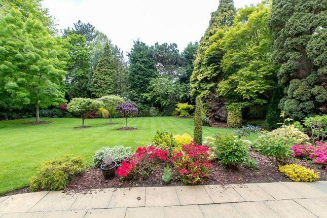 Communal Gardens of The Springs, Bowdon, Altrincham WA14