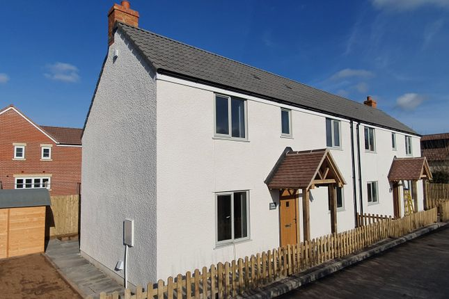 Thumbnail 2 bed semi-detached house for sale in Horwood Lane, Wickwar