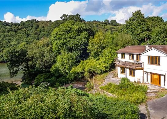 Thumbnail Detached house for sale in Lanteglos, Fowey, Cornwall
