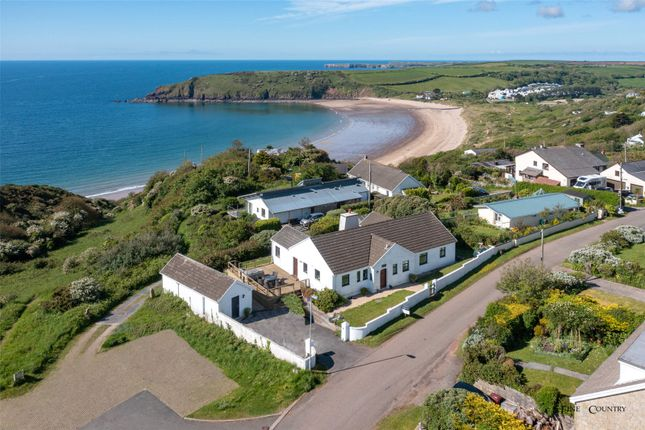 Thumbnail Bungalow for sale in Arosfa, Jason Road, Freshwater East, Pembrokeshire