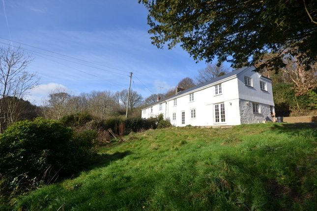 Thumbnail Semi-detached house for sale in Idless, Truro