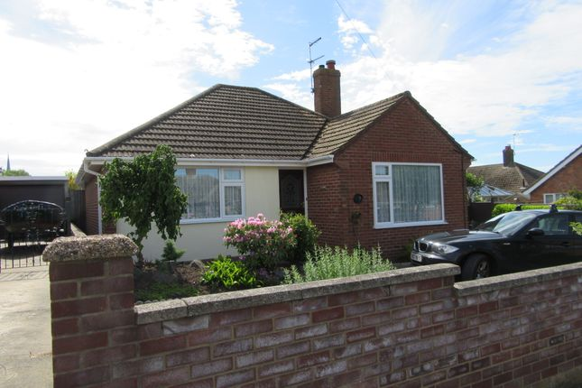 Thumbnail Detached bungalow to rent in Sharon Drive, Lowestoft