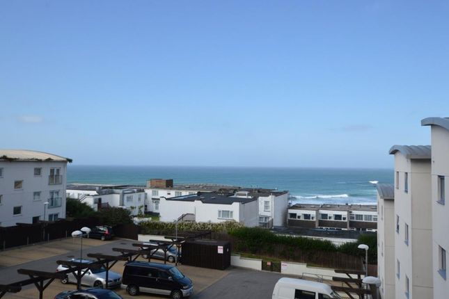 Thumbnail Flat for sale in Ocean 1, Pentire Avenue, Newquay, Cornwall