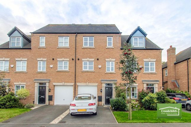 Thumbnail Town house for sale in Shire Oak Close, Shire Oak, Walsall