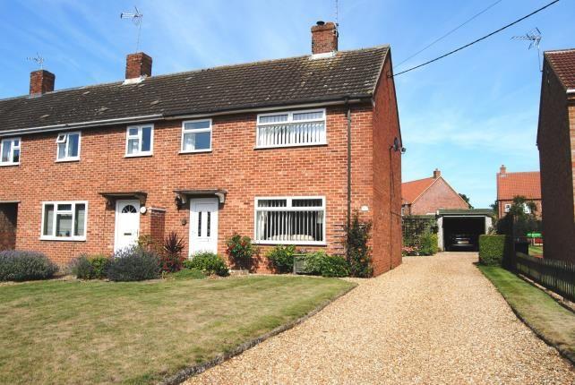 Thumbnail End terrace house for sale in Gayton, King's Lynn, Norfolk
