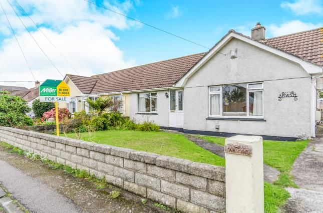 Thumbnail Bungalow for sale in Illogan, Redruth, Cornwall