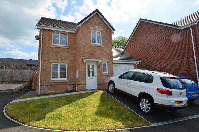 Detached house for sale in Ffordd Y Dolau, Llanharan, Pontyclun