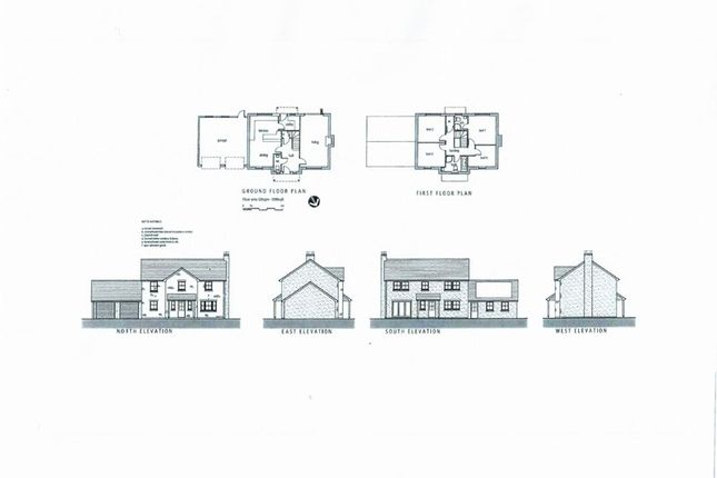 Thumbnail Detached house for sale in Old Court Gardens, Whitchurch, Ross-On-Wye