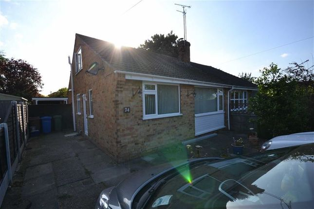Thumbnail Semi-detached bungalow to rent in Lindale Ave, Hornsea, East Riding Of Yorkshire