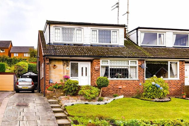 Thumbnail Semi-detached bungalow for sale in Rixton Drive, Tyldesley, Manchester