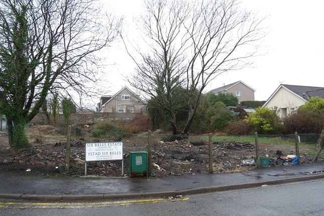 Thumbnail Land for sale in Six Bells Estate, Heolgerrig, Merthyr Tydfil
