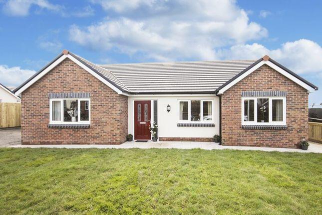 Thumbnail Detached bungalow for sale in Plot 15, Rhosybonwen Road, Llanelli