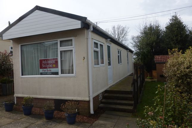 Thumbnail Mobile/park home for sale in Main Road, Meriden, Coventry