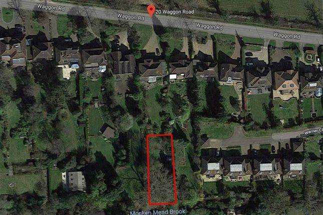 Thumbnail Land for sale in Waggon Road, Hadley Wood, Hertfordshire