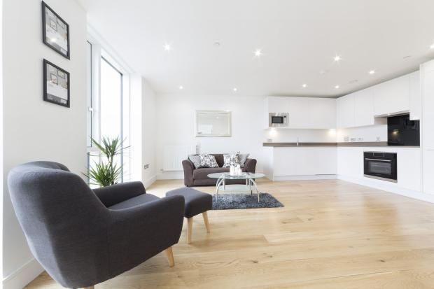 Thumbnail 1 bed flat for sale in Orchard Wharf, Leamouth Road, London
