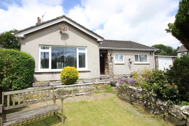 Thumbnail Detached bungalow for sale in Llanbethery, Llanbethery, Llanbethery