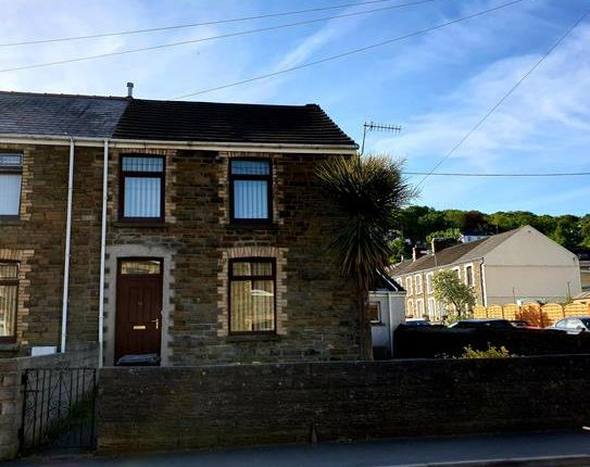Thumbnail End terrace house to rent in Park Street, Tonna, Neath