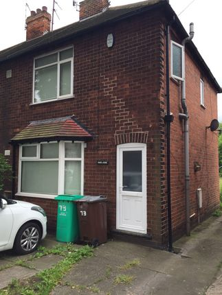 Thumbnail Semi-detached house to rent in Lace Street, Dunkirk, Nottingham